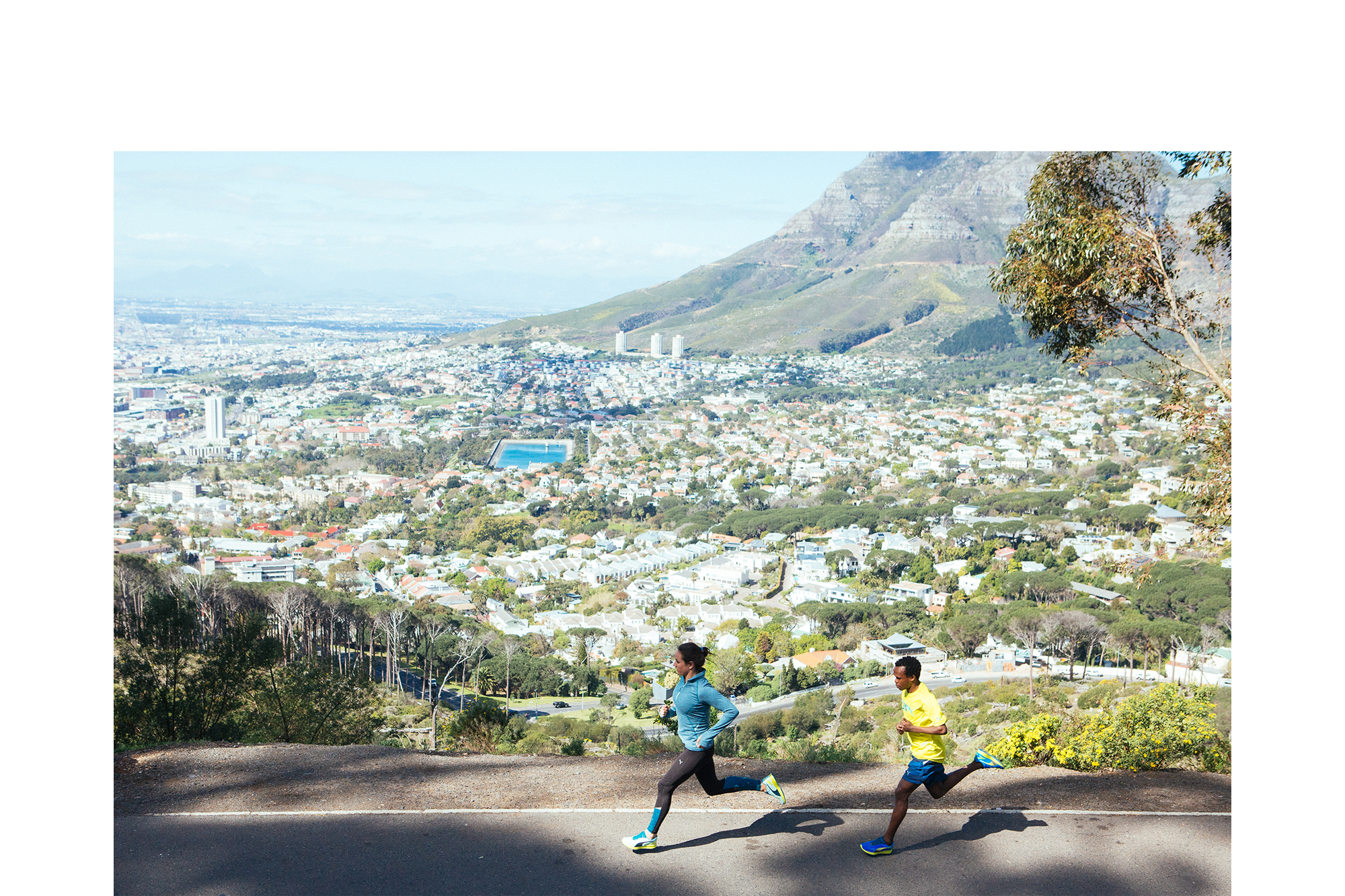 PUMA running Cape Town Brenton Salo Photography