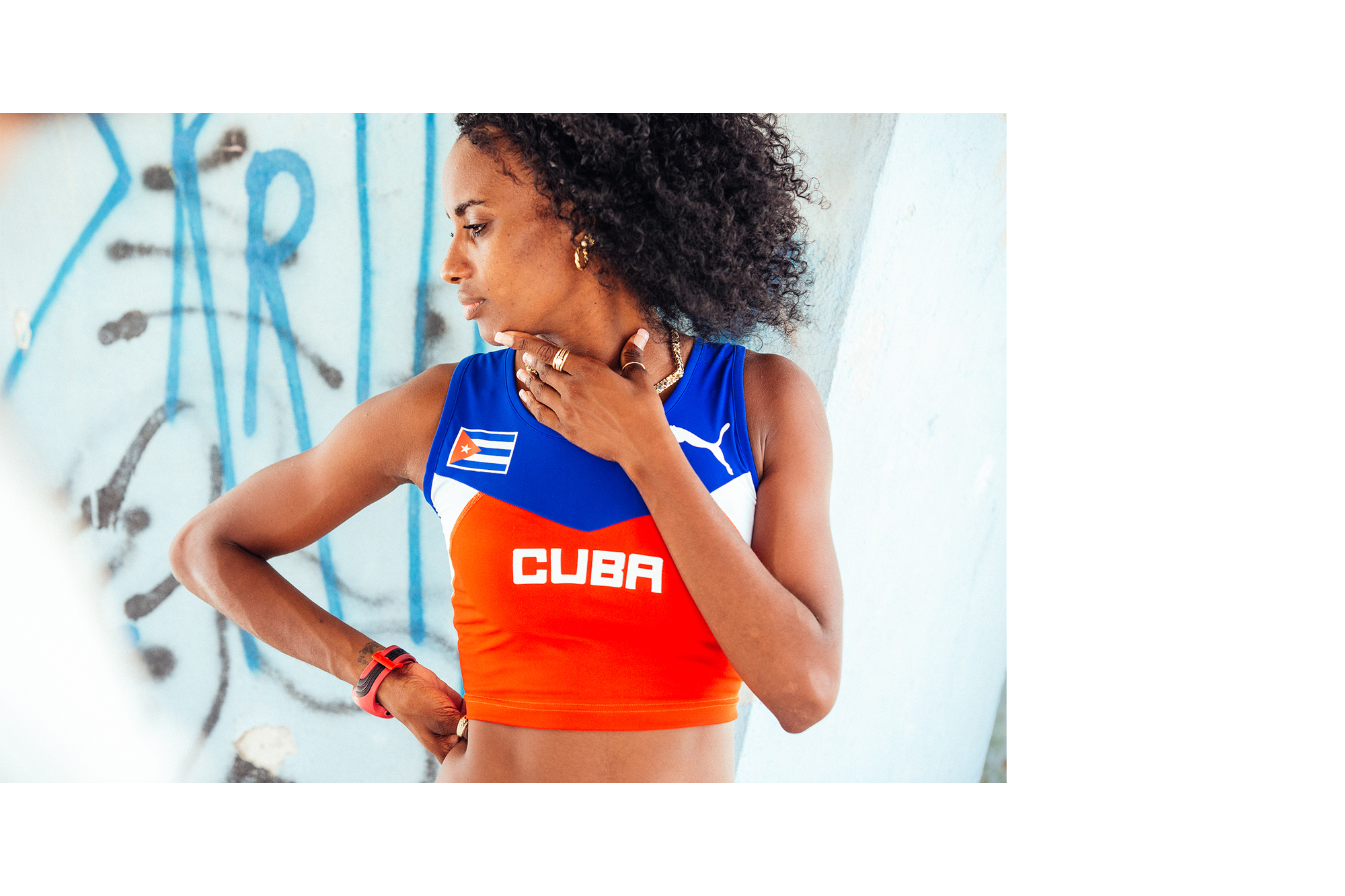 PUMA Running cuba havana track and field olympics Brenton Salo Photography