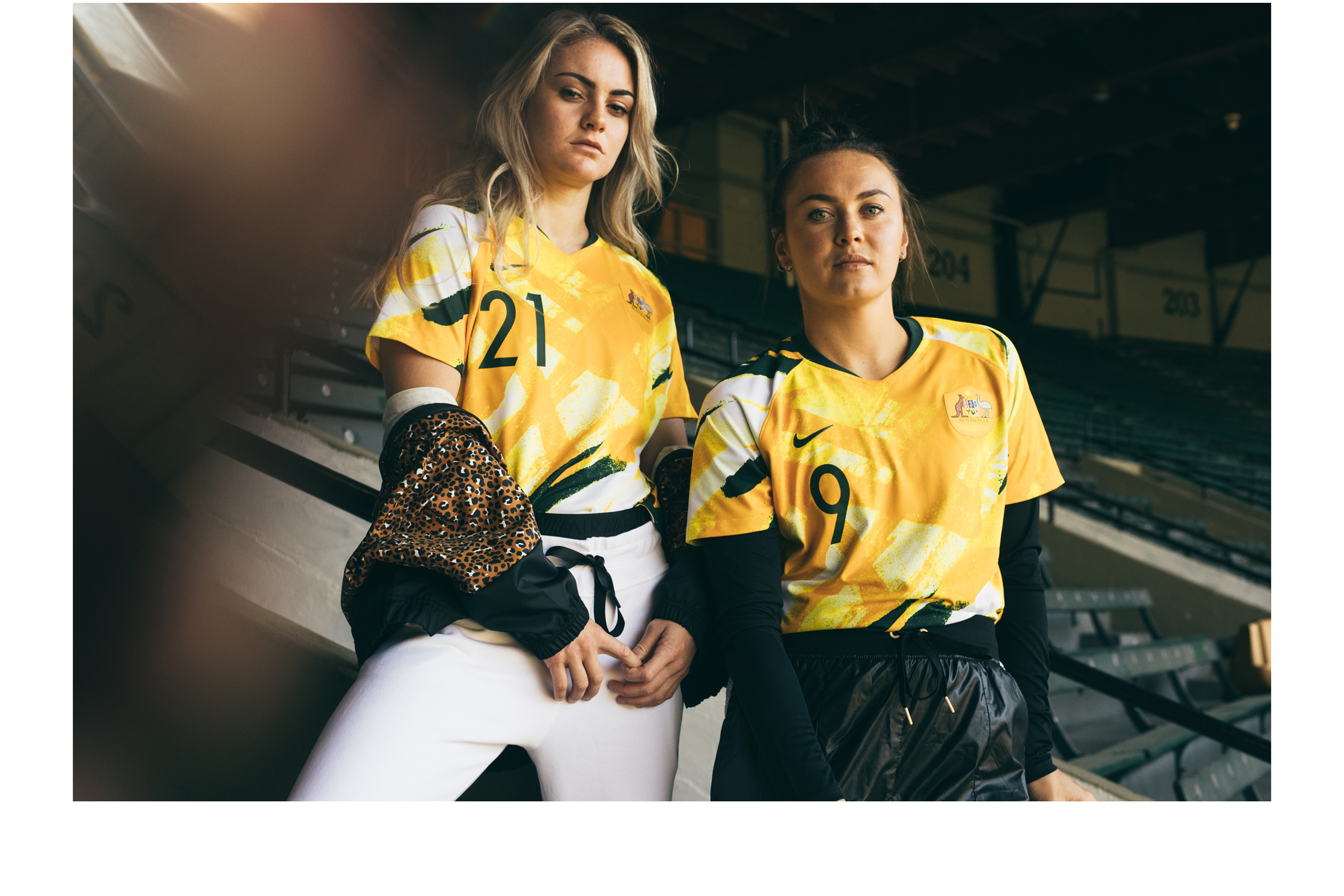 Soccerbible Nike caitlin foord ellie carpenter lifestyle