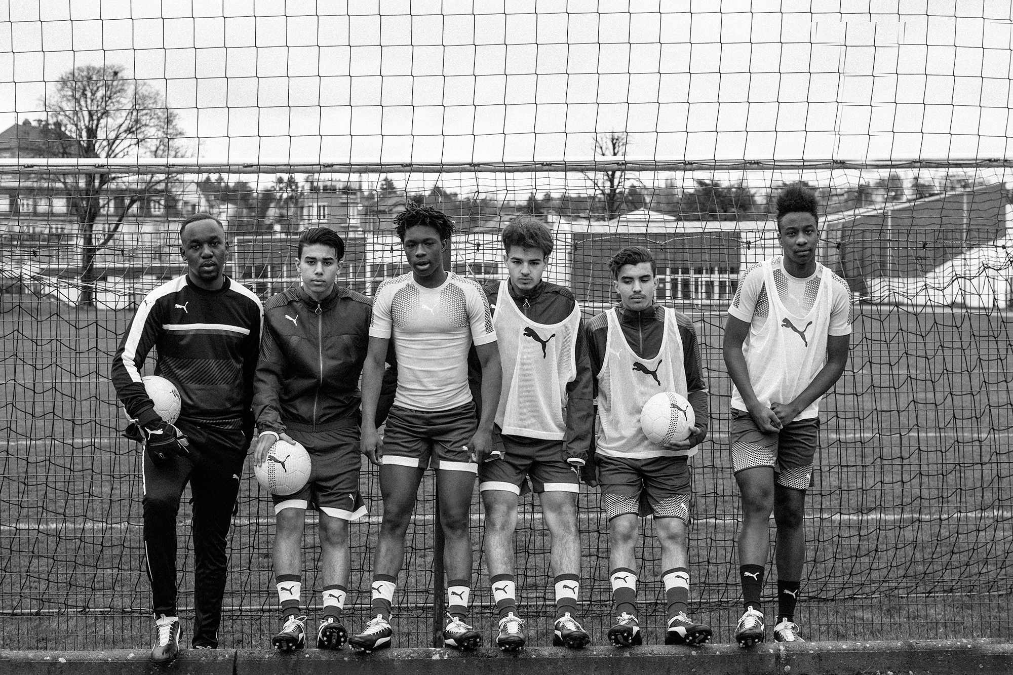 PUMA FOOTBALL PARIS street youth athletes