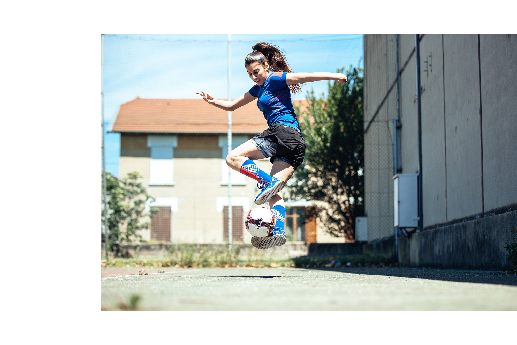 Lisa Freestyle puma football soccer  Brenton Salo Photography