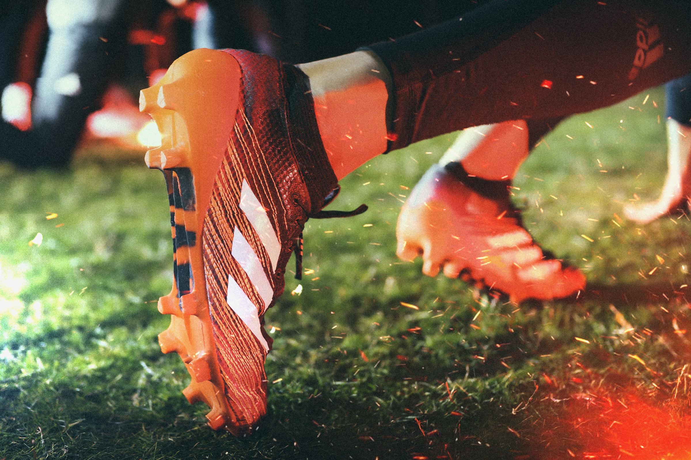 Adidas Burner. US Football. Adi Zero Cleat
