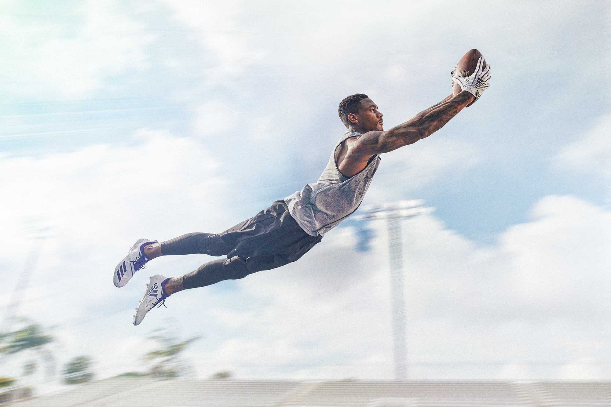 Stefon Diggs for Adidas Football NFL Athlete cinenmagraph .GIF  Brenton Salo Photography