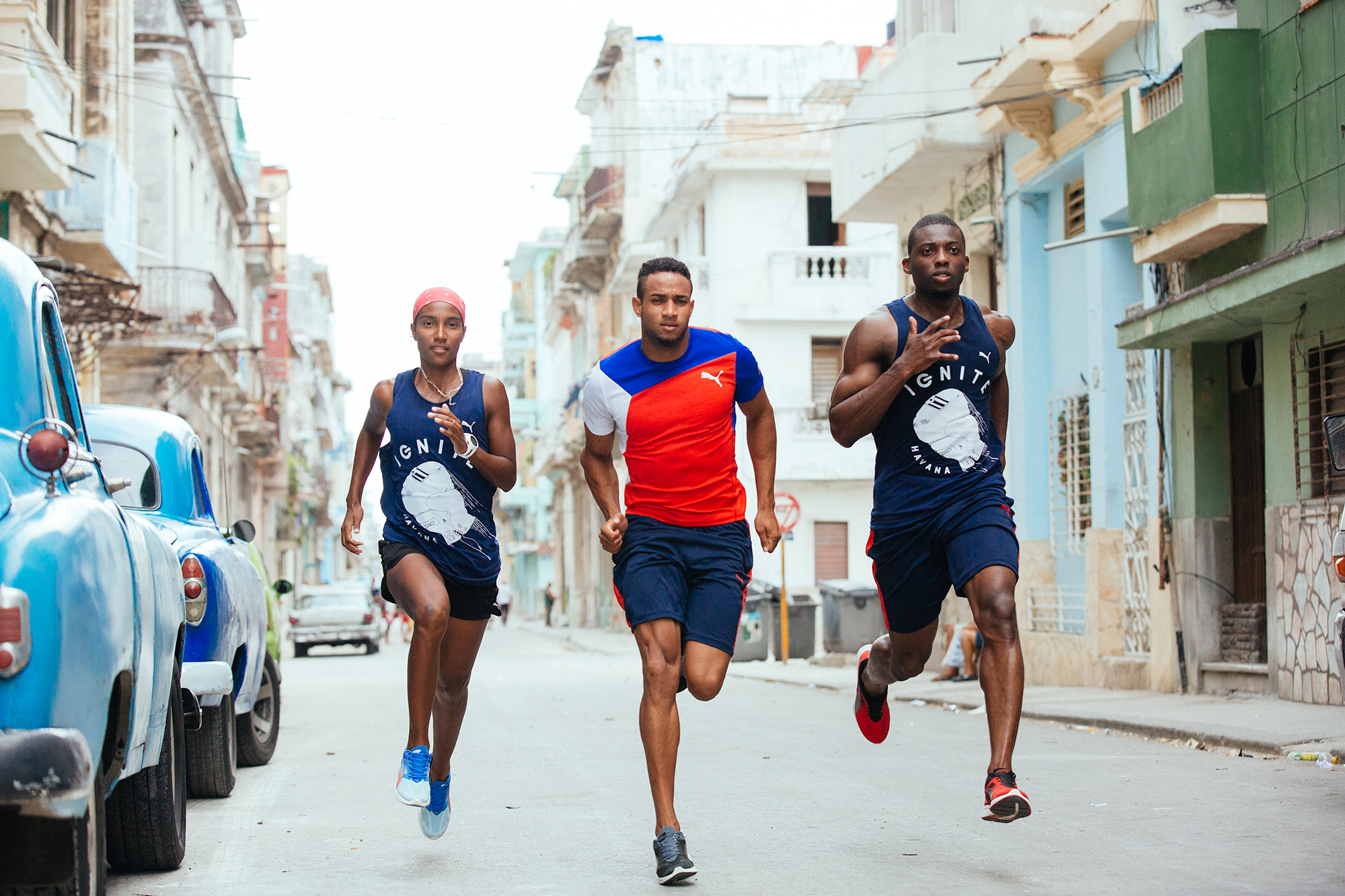 Run Crew Havana Cuba PUMA Running and Training