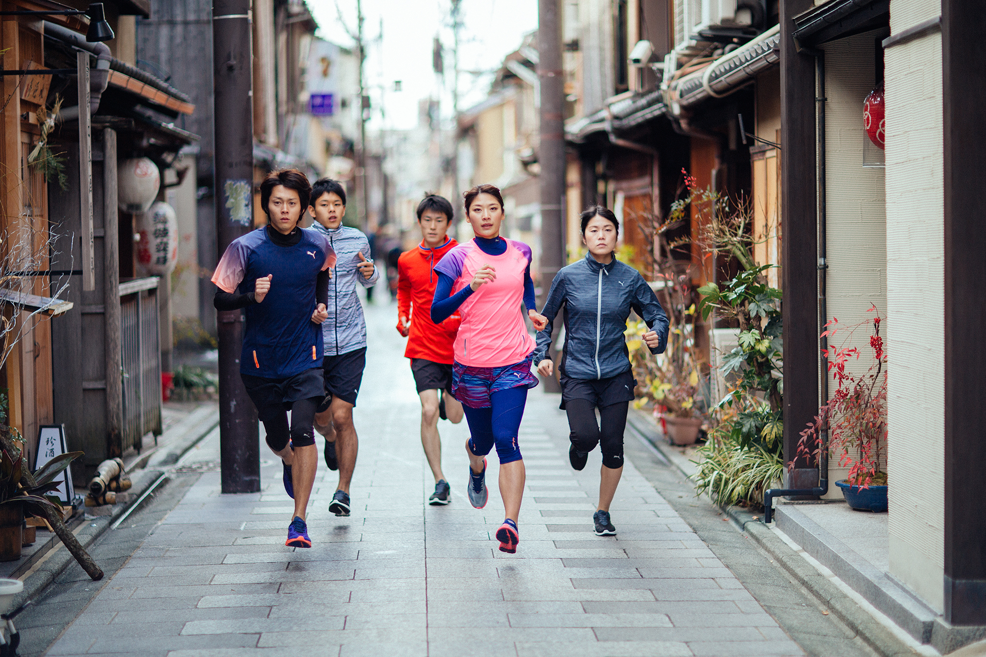 Run Crew Japan. Kyoto PUMA Running and Training