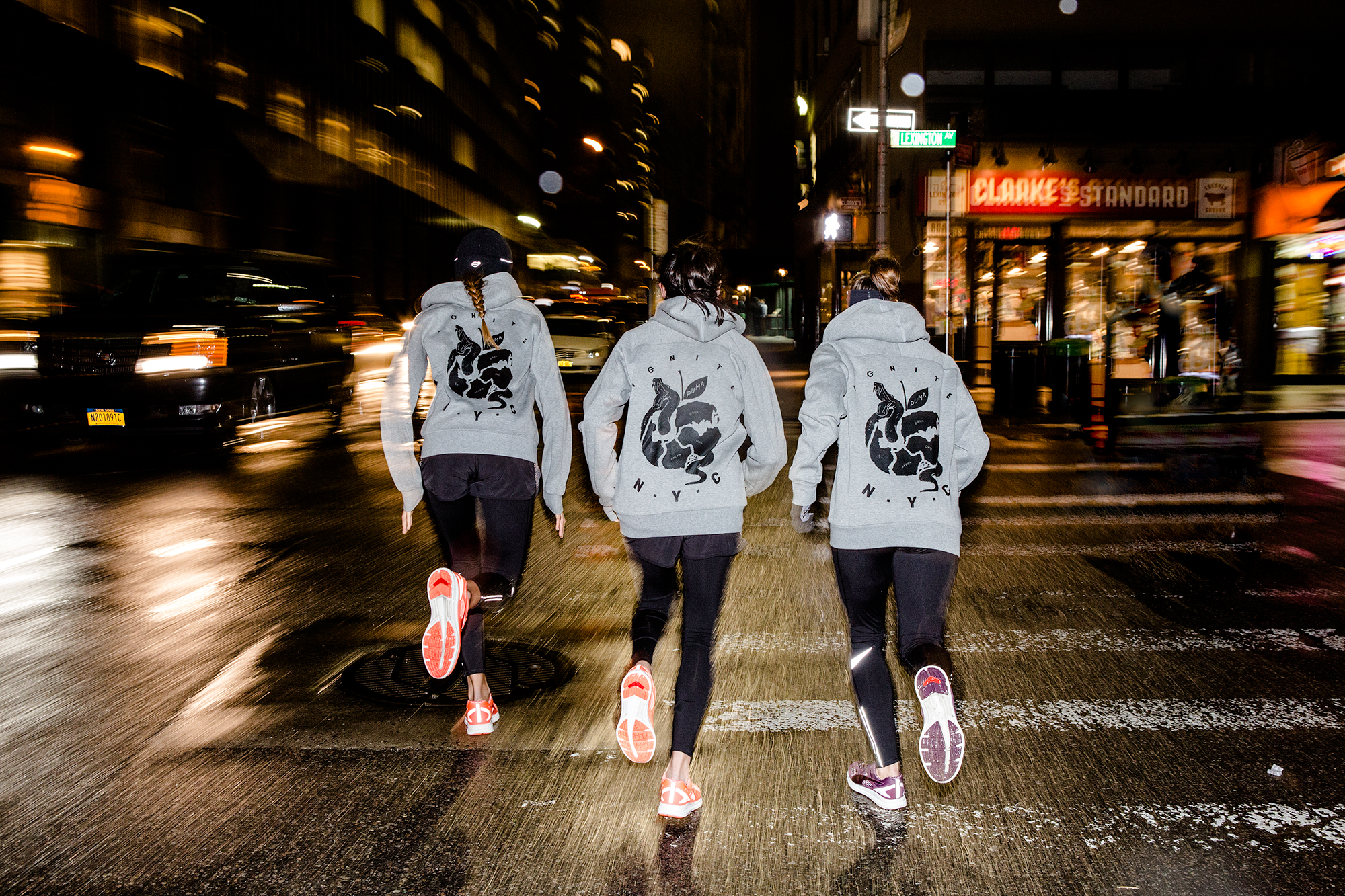 Run Crew NYC. PUMA Running and training New York