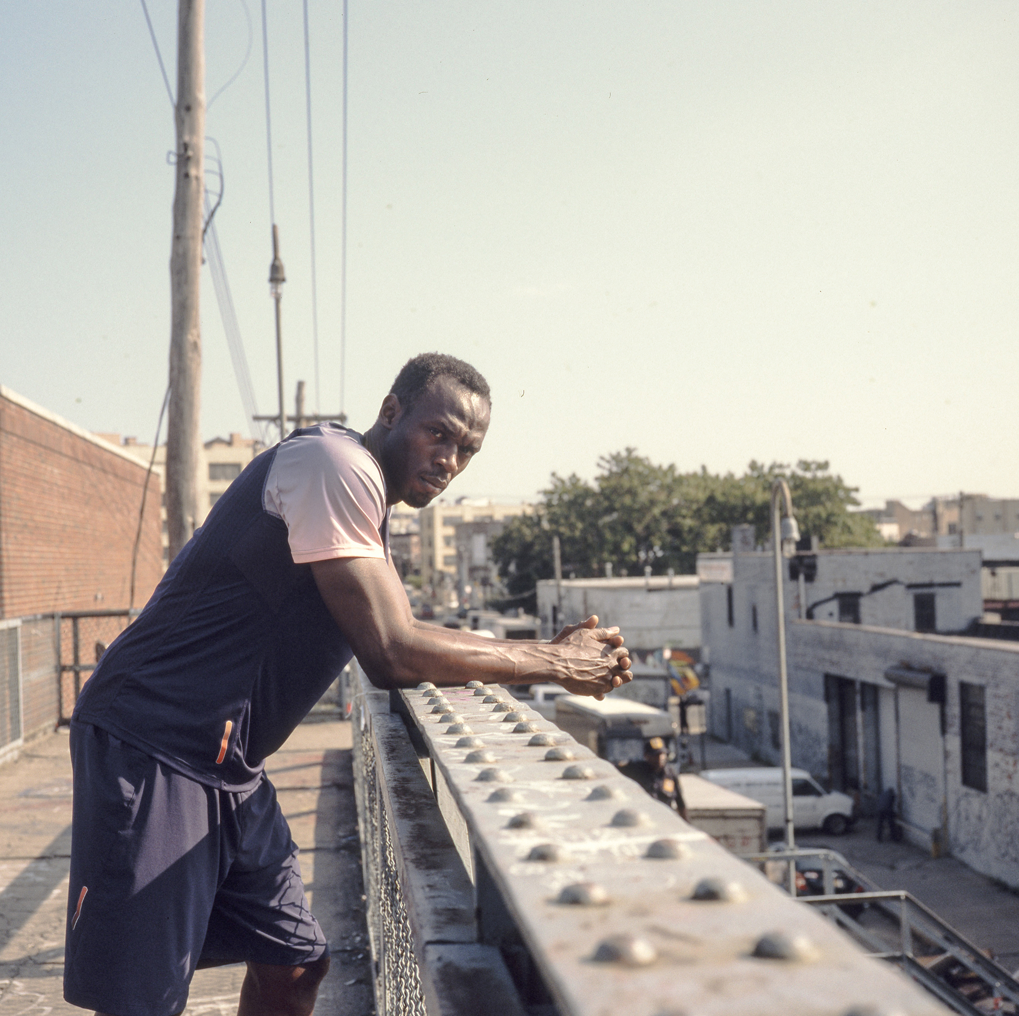 Usain Bolt for PUMA in New York Portrait